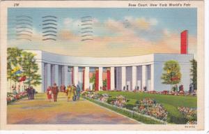 New York World's Fair 1939 Rose Court 1939 Curteich
