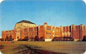 MONROE LOUISIANA~NEVILLE HIGH SCHOOL~ONE OF SOUTHS MOST BEAUTIFUL-1958 POSTCARD