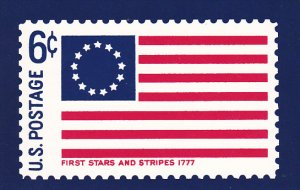 United States Postal Stamp Issue First Stars and Stripes 1777