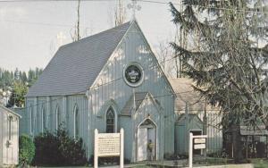 Historic Emmanuel Espicopal Church, Grass Valley, California, 40-60s