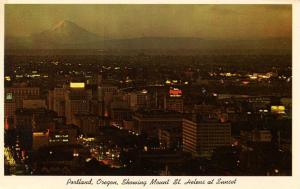 OR - Portland. Mt. St. Helens in background