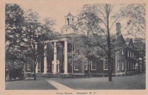 New York Geneseo Court House 1949