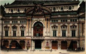 CPA  Tours - Théátre Municipale  (589856)