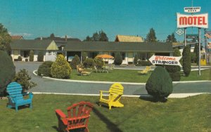 VANCOUVER , B.C. , 50-60s ; Inter-City Motel