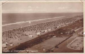 RP, Panorama, Strandgezicht, Groeten Uit ZANDVOORT, North Holland, Netherland...