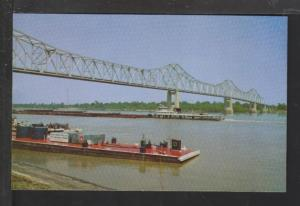 Mississippi Arkansas Bridge,Clarksdale,MS Postcard