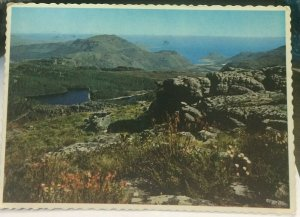 South Africa View from Top of Table Mountain towards Cape Town - posted 1984