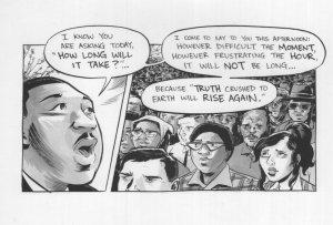 Martin Luthor King Black Rights Anti Racism Alabama March Postcard