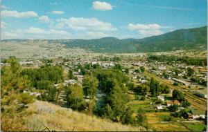Merritt BC Town View Unused Vintage Postcard D72
