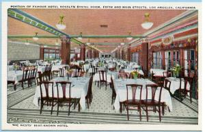 CA - Los Angeles, Famous Hotel Rosslyn Dining Room