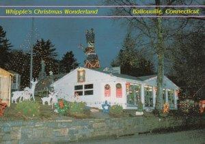 BALLOUVILLE , Connecticut , 1990s ; Christmas Wonderland during day