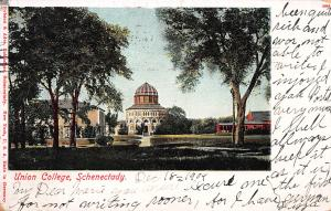 Union College, Schenectady, New York, Early Postcard, Used in 1904