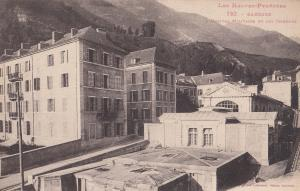 Les Hautes Pyrenees Bareges French Military Hospital Old Postcard