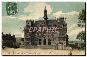 Old Postcard Versailles L & # 39Hotel City