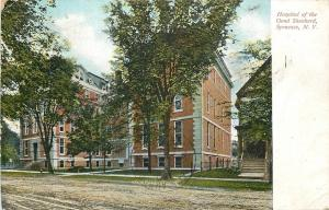 Syracuse New York~Hospital of the Good Shepard~Rutted Dirt Road~1909 Postcard