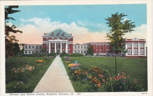 DECATUR, Illinois, PU-1944; Decatur And Macon County Hospital