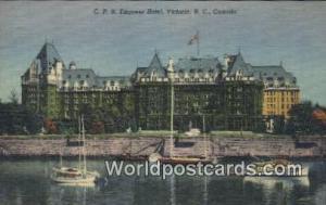 British Columbia, Canada CPR Empress Hotel Victoria  CPR Empress Hotel