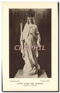 Old Postcard Our Lady of the Ardent