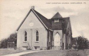 CONFLUENCE , Pennsylvania , 1920-30s ; First Christian Church