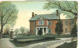 Carroll Mansion, Carroll Park, Baltimore, MD, 1908 used P...