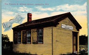 D82/ Janesville Wisconsin Wi Postcard c1910 Francis E. Willard School