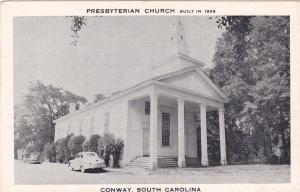 Exterior Front View of Presbyterian Church, Conway, South Carolina, 1930s