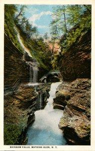 NY - Watkins Glen. Rainbow Falls