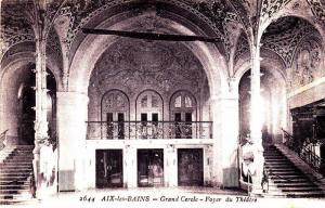 Aix-Les-Bains (Savoie), France, 1900-1910s , Grand Cercle - Foyer du Theatre