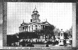 Ohio Washington Fayette County Court House