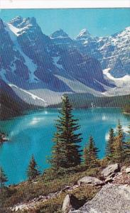 Canada Alberta Lake Morraine