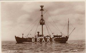 RP; Brake LIGHTSHIP , Deal Coast , Kent , England , 1910-30s