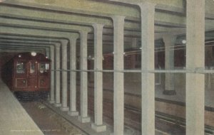 PHILADELPHIA , Pa. , 1900-10s ; Subway Train Car