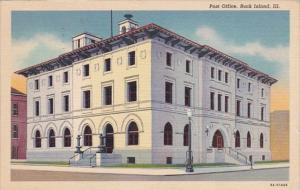 Illinois Rock Island Post Office 1940 Curteich