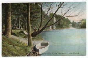 Waterville, Maine, Messalonskee Stream