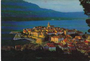 Croatia Korcula Aerial View