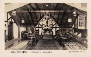 Canada Toronto The Old Mill The Garrett Room Real Photo