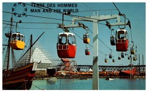 Expo 67   Sky Ride Esplande Station