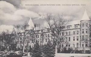 Colorado Colorado Springs Main Building Union Printers Home Albertype