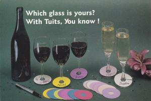 The Tuit Company Name Tags For Wine Glasses