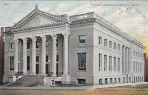 Iowa Dubuque Public Library 1920