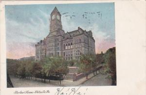 Pennsylvania Pottsville Court House 1907