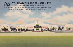 Saint Francis Hotel Courts Montgomery Alabama