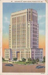 Missouri Kansas City Jackson Company Court House