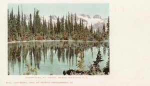 Selkirk Mountains , B.C. , Canada , 1902 ; Marion Lake