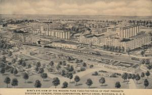 BATTLE CREEK , Michigan, 00-10s ; POST Pure Food Factories