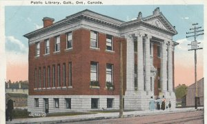 GALT , Ontario , Canada ,1900-10s ;  Public Library