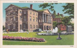 CHARLOTTETOWN, Prince Edward Island, Canada, 1900-1910's; Provincial Buildings