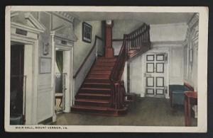 Main Hall Mount Vernon VA 1920 B.S. Reynolds Co R-52616