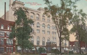 DETROIT, Michigan , PU-1909 ; Cadillac Hotel