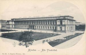 Alte Pinakothek, Munchen (Bavaria), Germany, 1900-1910s
